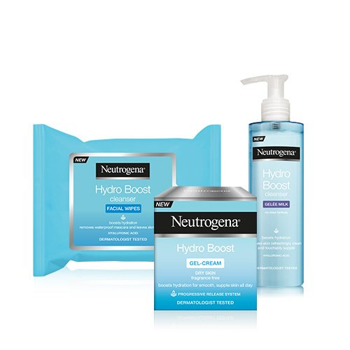 neutrogena-hydro-boost-moisturiser-cleanser-and-wipes-trio-set