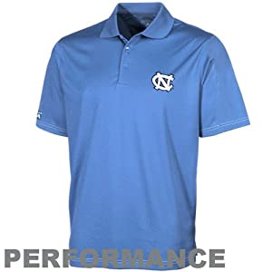 NCAA Antigua North Carolina Tar Heels (UNC) Pique Xtra-Lite Performance Polo -... by Antigua