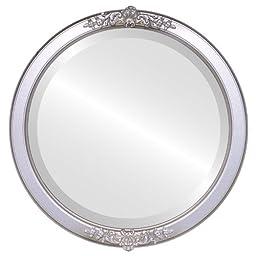 Athena Circle in Silver Shade