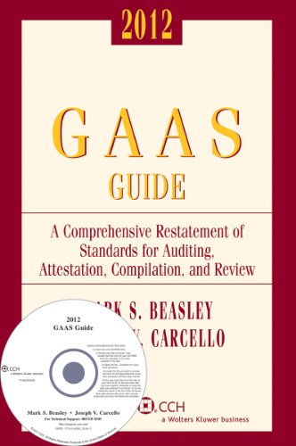 GAAS Guide, 2012 (with CD-ROM) (Miller Gaas Guide) (Comprehensive G.A.A.S. Guide)