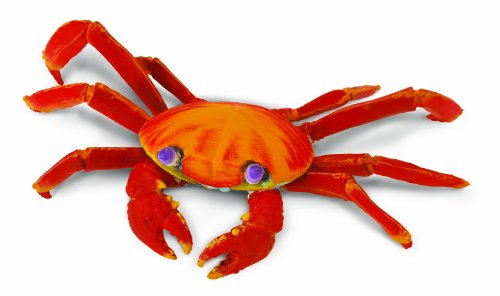Safari Incredible Creatures Galapagos Sally Lightfoot Crab Figure