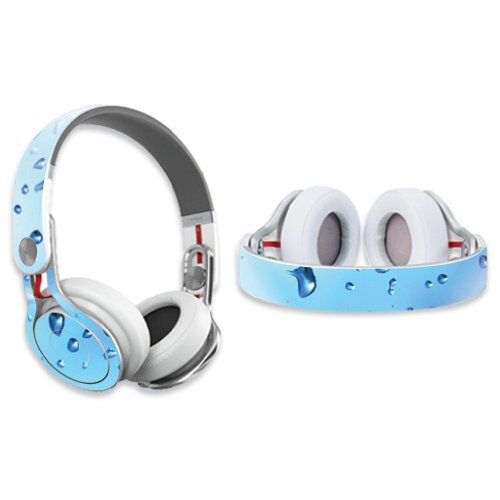 Mightyskins Protective Vinyl Skin Decal Cover For Dr. Dre Beats Mixr Headphones Sticker Skins Water Droplets