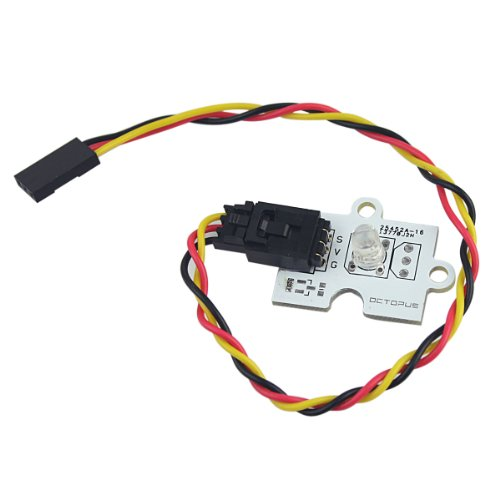 Generic Octopus 5Mm White Light Led Brick With Sensor Cable For Arduino Boards Diy