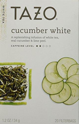 Tazo Cucumber White 20 Bags