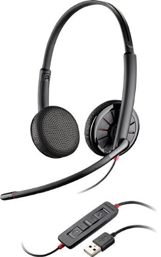 Plantronics Blackwire C325 Noise Cancellation USB Headset