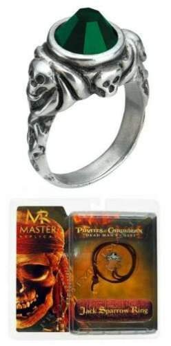 Pirates of the Caribbean: Jack Sparrow Ring Replica (Jack Sparrow Skull Ring compare prices)