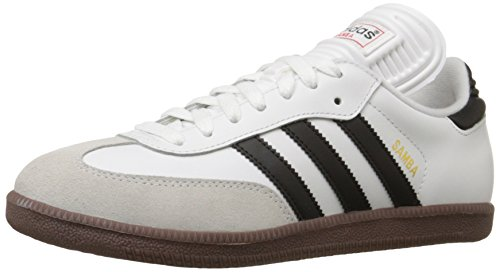 Adidas Men's Samba Classic Soccer Shoe,Run White/Black/Run White,10.5 M US