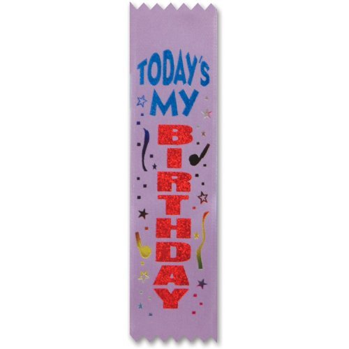 tday my bday value pack ribbon - 1