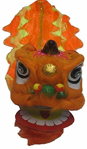 Chinese New Year Lion Dance Set For Children Orange