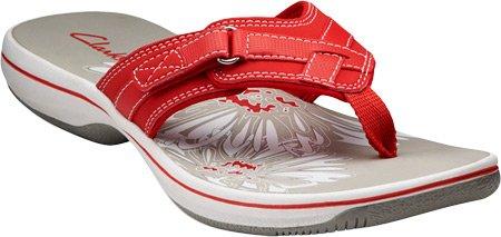 Womens Leather Flip Flops