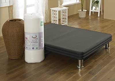 Happy Beds 2000 Stress Free Mattress Pocket Sprung Memory Foam Orthopaedic Removable Zip Cover