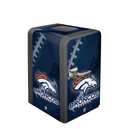 Nfl Denver Broncos Portable Party Refrigerator front-497099