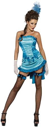 Fever Lady Elegance Saloon Girl Costume Can Can Costume 33436