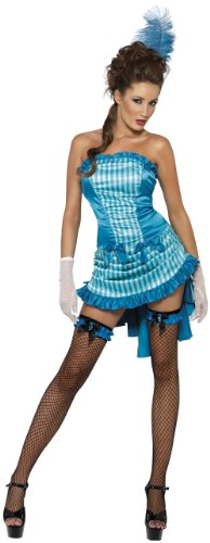 Fever Lady Elegance Sexy Saloon Girl Costume 33436