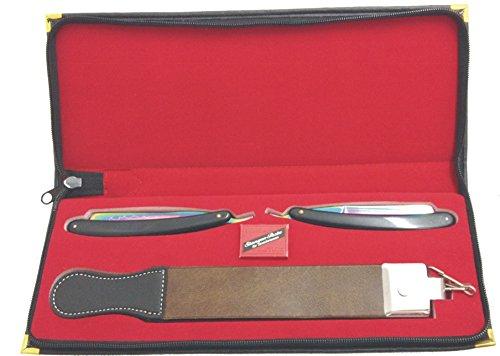 pathfinder-technologies-kit-de-rasage-comprenant-2-rasoirs-en-titane-1-cuir-a-rasoir-et-pate-a-affut