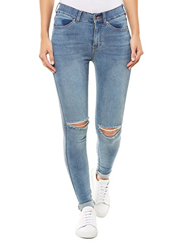Dr. Denim -  Jeans  - Opaco - Donna blu Medium