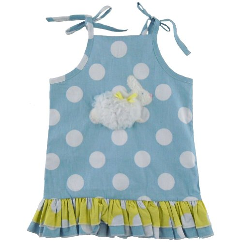 Mud Pie Baby Girls Bunny Dress Infant//Toddler