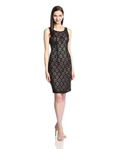 London Times Women's Lace Sheath Dress