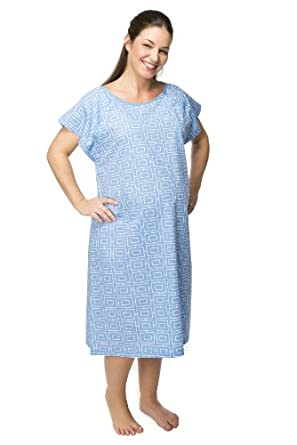 Gownies - Maternity Hospital Gown (L/XL pre pregnancy 10-16, Adela Gownie)