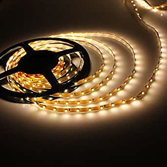 bande lumineuse led blanc chaud flexible dc 12v 5m 5w 300x3528 smd luminaires et. Black Bedroom Furniture Sets. Home Design Ideas