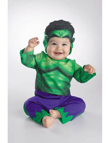 Baby-Toddler-Costume Hulk Toddler Costume 12-18 Months Halloween Costume