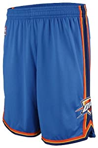 Buy Adidas Oklahoma City Thunder Youth NBA Replica Basketball Shorts by adidas