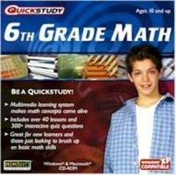 QuickStudy 6th Grade Math CD-ROM