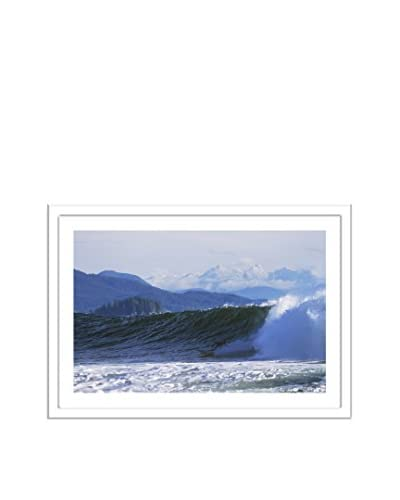 Getty Images Surfer Bottomturning With Mountains Beyond Near Tofino, Vancouver Island, British Colum...