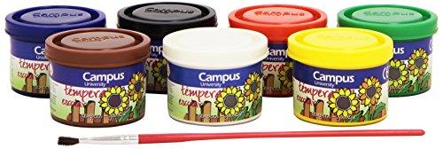 campus-university-g40-7-630395-temperafarben-7-dosen-40-g-verschiedene-farben