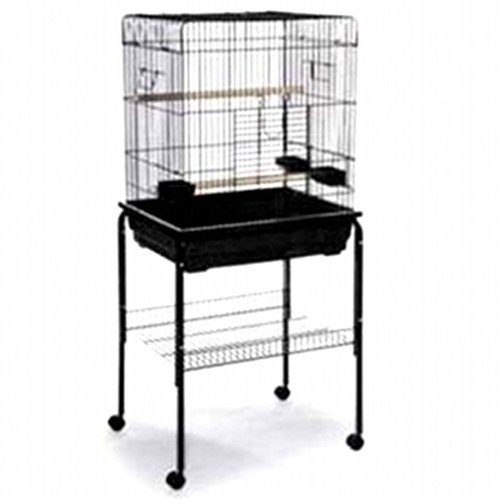 Image of Square Roof Parrot Cage (B007QH6S42)
