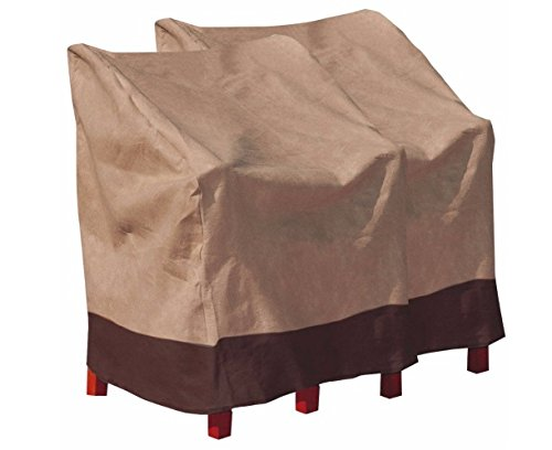 2 PCS Waterproof High Back Chair Cover Outdoor Patio Garden Furniture Protection Ship from USA