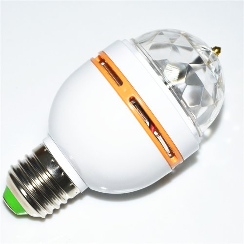 Inst Led Full Color Rotating Lamp With Sound Activated Design