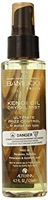 Alterna Bamboo Kendi Dry Oil Mist for Unisex Mist, 4.2 Ounce