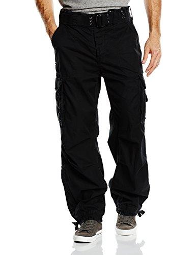 Brandit Royal Vintage Trousers Pantaloni tempo libero nero L