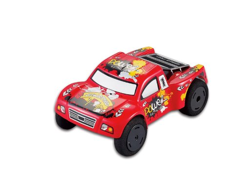 15Mph Super Fast R/C Truck!!! Electric Full Function High Performance Mini Rc Truck (Red) With Remote Control. Comes With Ramp, Cones, Extra Tires To Take On Most Terrains. Do Flips And Jumps!
