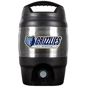 NBA Memphis Grizzlies 1 Gallon Tailgate Jug by Great American Products