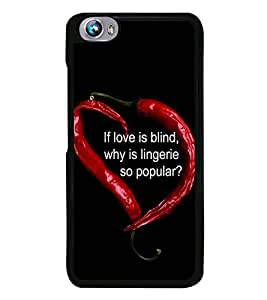 Chilly Heart 2D Hard Polycarbonate Designer Back Case Cover for Micromax Canvas Fire 4 A107