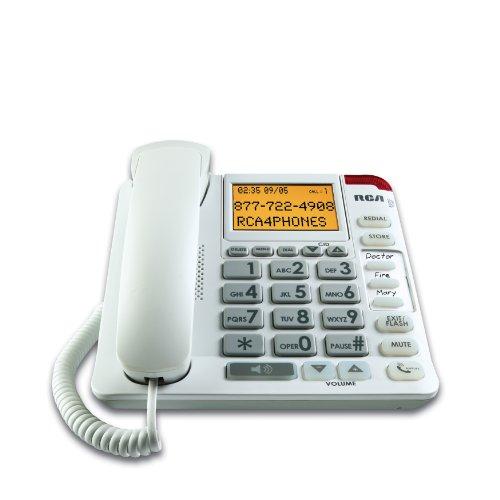 RCA 1124-1WTGA 1-Handset Landline Telephone