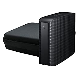 for Samsung D3 Station External High Capacity 2TB 4TB 6TB Desktop USB 3.2 External Hard Drive Hard Storage/Carrying/Travel Case Bag by co2CREA