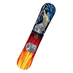 Click here to buy Graffiti 110 cm Entry Level Snowboard by Emsco.