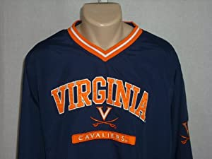 VIRGINIA CAVALIERS 2XL Embroidered Pullover Jacket Sweatshirt Windbreaker NWT! by Cadre