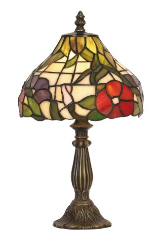 Peonies Tiffany Table Lamp