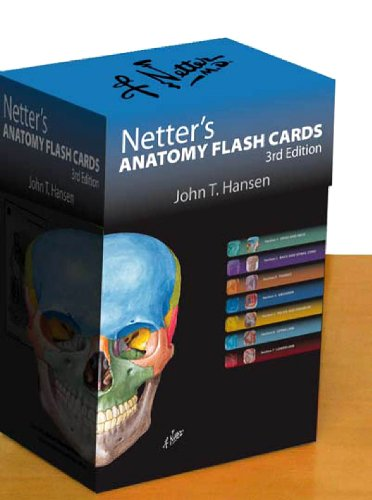 Clinically Oriented Anatomy: Check Out Netter\'s Anatomy Flash Cards ...