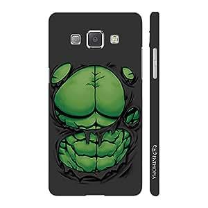 Enthopia Designer Hardshell Case Big Guys Packs Back Cover for Samsung Galaxy A8