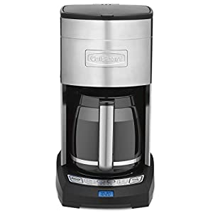 Cuisinart Coffee Maker Carafe Temperature : Amazon.com: Cuisinart Coffee Maker - 12 cup - Adjustable Temperature: Drip Coffeemakers: Kitchen ...