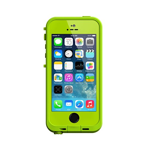 Lifeproof Fre Carrying Case For Iphone 5S - Retail Packaging - Lime/Dark Lime