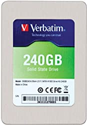 Verbatim 240 GB SATA III Internal SSD 6.0 Gb-s 2.5-Inch 47379