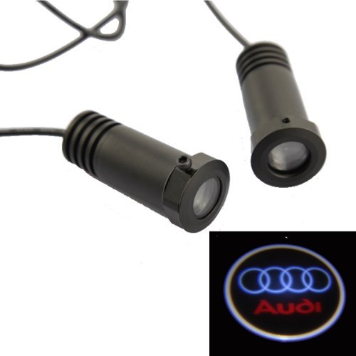 Dbpower® 2Pcs Car Projection Led Projector Door Shadow Light Welcome Light Laser Logo For Audi
