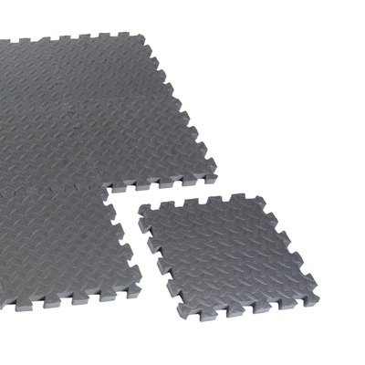 Cap Barbell Puzzle Mat Equipment Mat (Black)