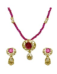 Kshitij Jewels Metal Pendant Jewellery Set For Women (KJM 057)
